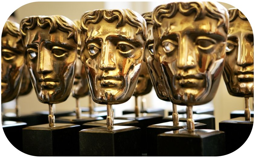 A estatuera do BAFTA!